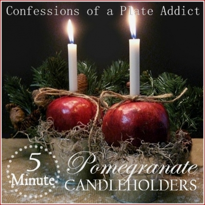 CONFESSIONS OF A PLATE ADDICT Easy 5 Minute Pomegranate Candle Holders1_thumb[24].jpg
